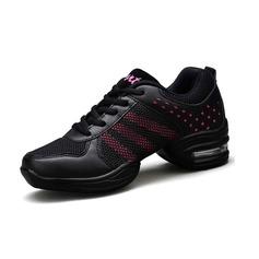 Vrouwen Kunstleer Dans Sneakers Dans Sneakers Dansschoenen