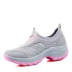 Frauen Netz mit Gummiband Sneaker & Sport