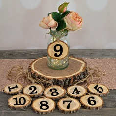 Classic Wooden Table Number Cards