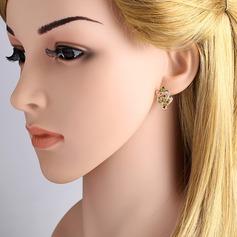 Gorgeous Legering koppar Kvinnor Mode örhängen