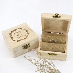 Personalized/Romantic Wood Ring Box