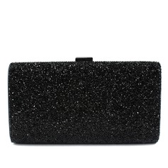 Elegant PU With Rhinestone Clutches