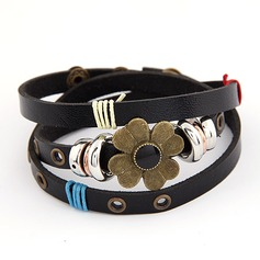 Fashional Alloy Leatherette Fashion Bracelets