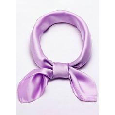 Effen kleur Nek/lichtgewicht/aantrekkelijk Zijde Vierkante sjaal