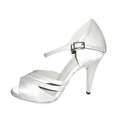 Femmes Satiné Talons Sandales Latin Chaussures de danse