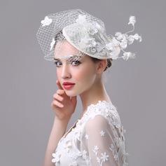 Ladies ' Smukke/Gorgeous/Efterspurgte/Særlige Kambriske med Tyl Diskette Hat
