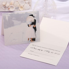 Personalized Fairytale Style Top Fold Response Cards (Set of 20)