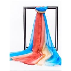 Gradient kleur lichtgewicht/te groot Mulberry zijde Zijden sjaal