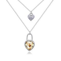 Элегантные сплав/хрусталь женские ожерелья