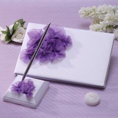 Schöne Blütenblätter/Blume Gästebuch & Schreibset