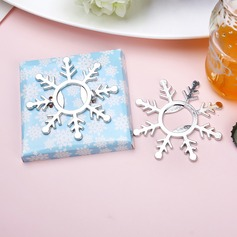 Snow Design Zinc Alloy Bottle Openers (Set of 4)