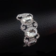 Elegant Alloy/Rhinestones With Rhinestone Ladies' Bracelets