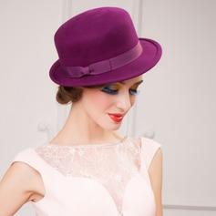Dames Élégante Coton avec Bowknot Chapeau melon / Chapeau cloche