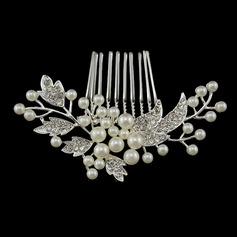 Ladies Beautiful Alloy/Imitation Pearls Combs & Barrettes