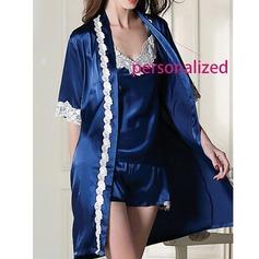 Polyester Nuptiale/Féminine/Mode Vêtements de nuit