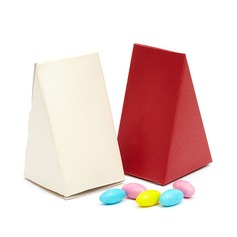 Classic Pyramid Favor Boxes (Set of 10)