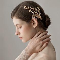 Dame Smukke Legering Hårnåle med Venetiansk Perle (Sælges i et enkelt stykke)