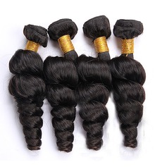 4A Virgin/remy Loose Human Hair Human Hair Weave (Sold in a single piece) 100g