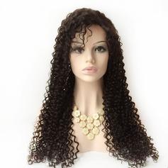 Curly Human Hair Parykar Lace Front Parykar