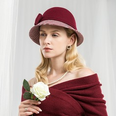 Ladies' Classic/Elegant/Romantic Wool Floppy Hat