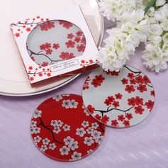 Pretty Sakura Design Glass Coaster (Set of 2 pieces)