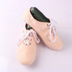 Femmes Toile Chaussures plates Ballet Jazz Chaussures de danse