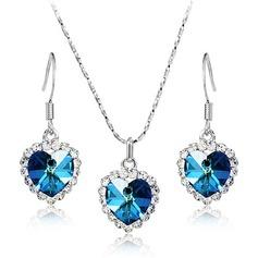 Único Liga/Cristal Conjuntos de jóias