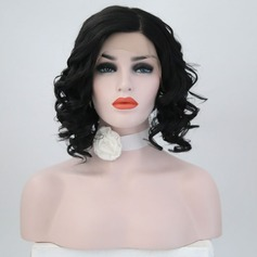 Loose Wavy Syntetisk Lace Front Parykar 220g