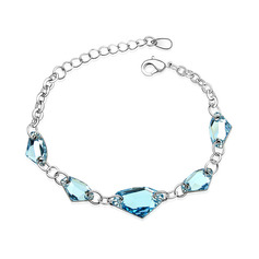 Ladies' Alloy/Platinum Plated With Cubic Austrian Crystal Bracelets For Bridesmaid/For Couple