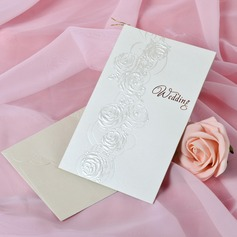 Blommig Stil Side Vik Invitation Cards (Sats om 50)