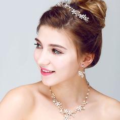 Exquisite Liga/Strass Senhoras Conjuntos de jóias