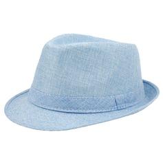 De los hombres Caliente Lino Sombrero de Panamá/Derby Kentucky Sombreros