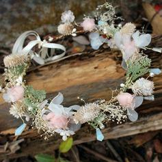 Dame Særlige Silke Blomst Pandebånd
