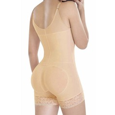 Women Sexy/Honeymoon Cotton Blends Bodysuit/Shorts Shapewear