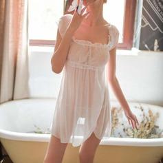 Chinlon Charming Feminine Sleepwear/Babydoll/Bridal Lingerie