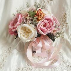 Feminino Cetim Buquês de noiva -