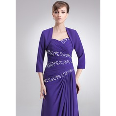 3/4-Length Sleeve Chiffon Special Occasion Wrap (013051877)