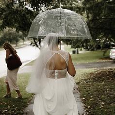 Plastique Ombrelle de mariage