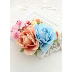 с Цветок цветы повязка