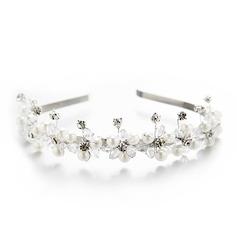 Filles Beau Cristal/Strass/De faux pearl Bandeaux avec Strass/Perle Vénitienne/Cristal (Vendu dans une seule pièce)