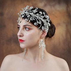 Damer Elegant Rhinestone/kobber Pannebånd (Selges i ett stykke)