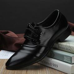 Mænd Kunstlæder Blondér Casual Pæne sko Oxfords til Herrer