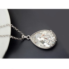 Legering Kristal Dames Fashion Ketting