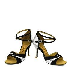 Mulheres Espumante Glitter Latino Sapatos de dança
