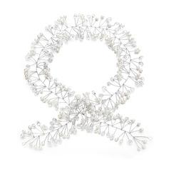 Damer Unik Crystal/Imitert Perle Pannebånd med Venetianske Perle/Crystal (Selges i ett stykke)