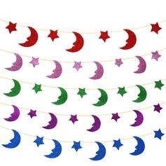 """""""Lua e Estrela"""" esponja Bandeira (8 peças)"""