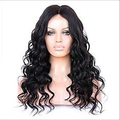 4A Ej remy Kroppsvåg Mänskligt hår Full Lace Parykar