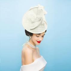 Dames Style Vintage Fil net avec Feather Chapeaux de type fascinator/Kentucky Derby Des Chapeaux