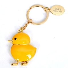 Personalized Animal Shaped Stainless Steel/Zinc Alloy Keychains