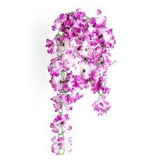 Plástico Vinha Flor Decoração do casamento